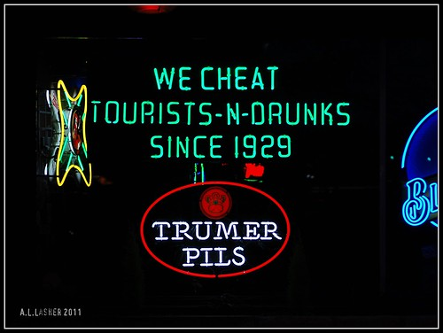 We Cheat Tourists-N-Drunks