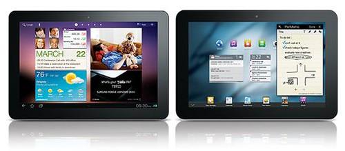 Samsung Galaxy Tab 8.9, 10.1