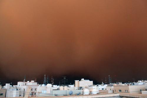 Kuwait Dust Storm