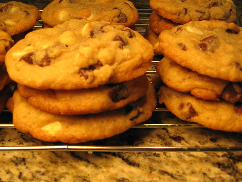 Triple Chip Cookies 005