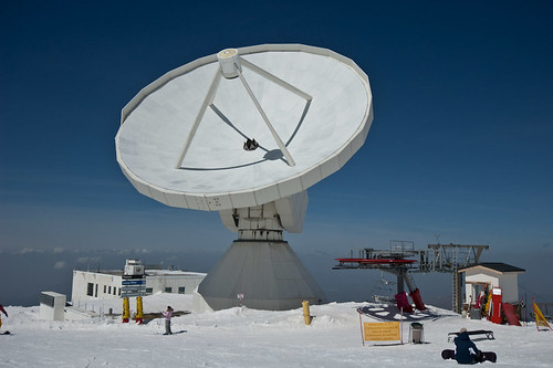 El radiotelescopio de Sierra Nevada