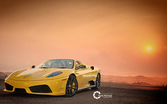 Ferrari 16M Scuderia Spider | 499 of 499 (Tareq Abuhajjaj | Photography & Design) Tags: light red sky bw orange moon white black green cars car sport yellow night race speed dark photography lights design spider photo big high nice nikon flickr italia nissan power top wheels fast gear ferrari turbo saudi arabia manual carbon fiber rims riyadh scuderia v8  2010 499 ksa  tareq  16m      d700      foilacar tareqdesigncom tareqmoon tareqdesign  abuhajjaj