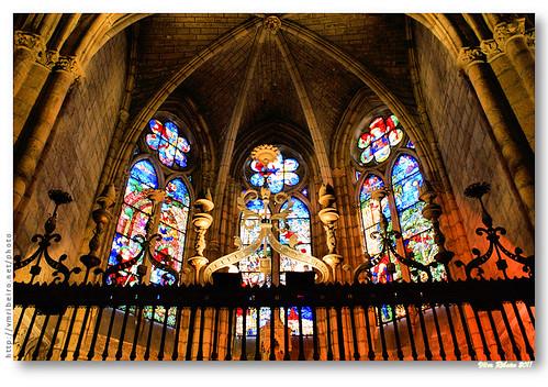 Capela radiante da Catedral de León by VRfoto