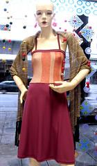 (plyades-ropa tejida) Tags: argentina thread fashion dress moda cotton pashmina seda ropa vestido textil algodon tejido tejida pleyades