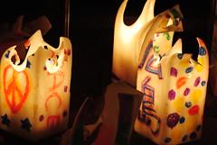 Peace Candles (Sue Ann Simon) Tags: japan night nikon candles peace ceremony hiroshima 日本 worldheritage abomb peacepark 広島 宮島 caribbeanphotographer nikond3000 trinidadphotographer ttphotographer trinidadianphotographer trinidadianportraitphotographer