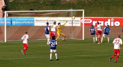 IMG_9523 Hallescher FC vs. 1. FC Magdeburg (Landespokal/ Cup of Saxony-Anhalt)