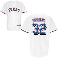 Texas Rangers #32 Hamilton Josh White Jersey (Terasa2008) Tags: jersey texasrangers  cheapjerseyswholesale cheapmlbjerseys mlbjerseysfromchina mlbjerseysforsale cheaptexasrangersjerseys