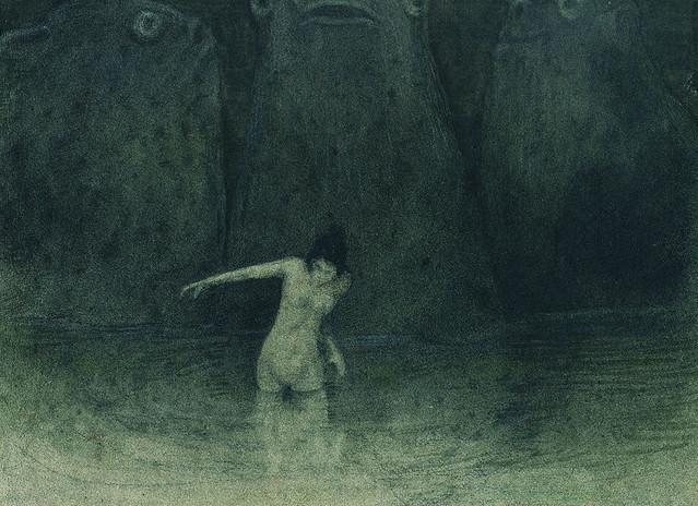 Alfred Kubin - Der Sumpf, 1903–05