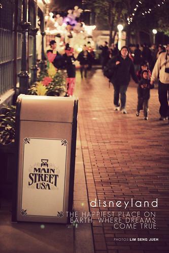 Main Street USA - HK disneyland
