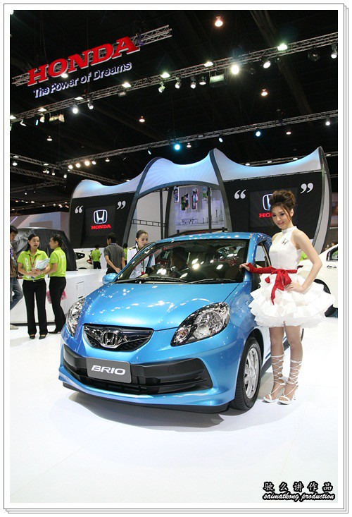 Bangkok International Motor Show 2011 - Honda Sexy Models / Show Girls