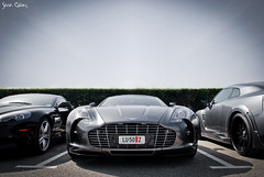 Aston-Martin One-77 (calians.sevan) Tags: auto red white black france cars car wheel club speed dark french rouge paul photography grey james photo nice nikon automobile nissan photoshoot martin wheels s automotive ferrari racing exotic elite bond db4 gt nikkor rims blanche circuit rs blanc supercar v8 aston spotting astonmartin v10 007 ricard volante vantage stradale v6 dbs roadster gtr v12 vehicule db9 zagato db5 nissa db6 httt bez rapide virage db7 castellet carspotting sevan jmb d80 one77 calians vanguish