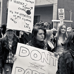 Slutwalk Toronto 2011 (thelearningcurvedotca) Tags: street city people urban blackandwhite toronto ontario canada monochrome square outdoors march blackwhite downtown day message unity political politics rally crowd group protest social anger canadian celebration demonstration event civil rights protester activist demonstrators opposition reform gather iamcanadian bsquare bwemotions torontoist blackwhitephotos bej true2bw torontostreetcandids cans2s flickr10 blackandwhiteonly bwartaward discoveryphotos yourphototips blogtophoto slutwalk