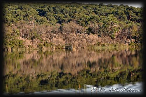 Jetty at the lake
