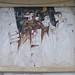 Figure; 1986. Affresco, cm 380x400.<br /> Maglione, Piazza XX Settembre.<br />