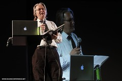 Bruce Sterling @DOB (SHAREconference) Tags: conference belgrade brucesterling beograd share helloworld dob shareconference foursquare:venue=9941165 share2011 foursquare:venue=20013602 shareopening photonemanjaknezevic