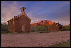 The Sky Opens (Bill Ratcliffe) Tags: sunset utah ghosttown zion zionnationalpark southernutah redrock grafton oldwest d90 butchcassidyandthesundancekid graftonghosttown graftonutah utahghosttown