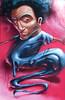 Mltr (Fat Heat .hu) Tags: graffiti character fatheat rap face vivid melt blue cfs coloredeffects afro spraycanart splashdrip