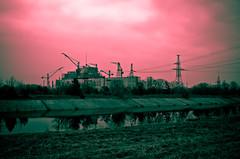 Чорнобильська АЕС (the future of...) - Reactors 5 & 6 (BluntmanJim) Tags: abandoned nikon experiment nuclear ukraine urbanexploration radioactive derelict easterneurope lr nuclearpower lightroom chernobyl urbex україна abandonedcity thezone pripyat chornobyl чернобыль nikond90 чорнобиль при́пять kievoblast chnpp reactor5 reactor6 thechernobylzone украи́на thezoneofalienation чорнобильськааес chernobylnuclearpowerplantexclusionzone