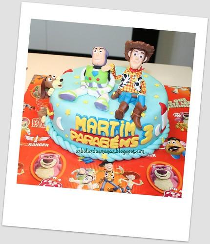 Bolo Toy Story 3 by Osbolosdasmanas