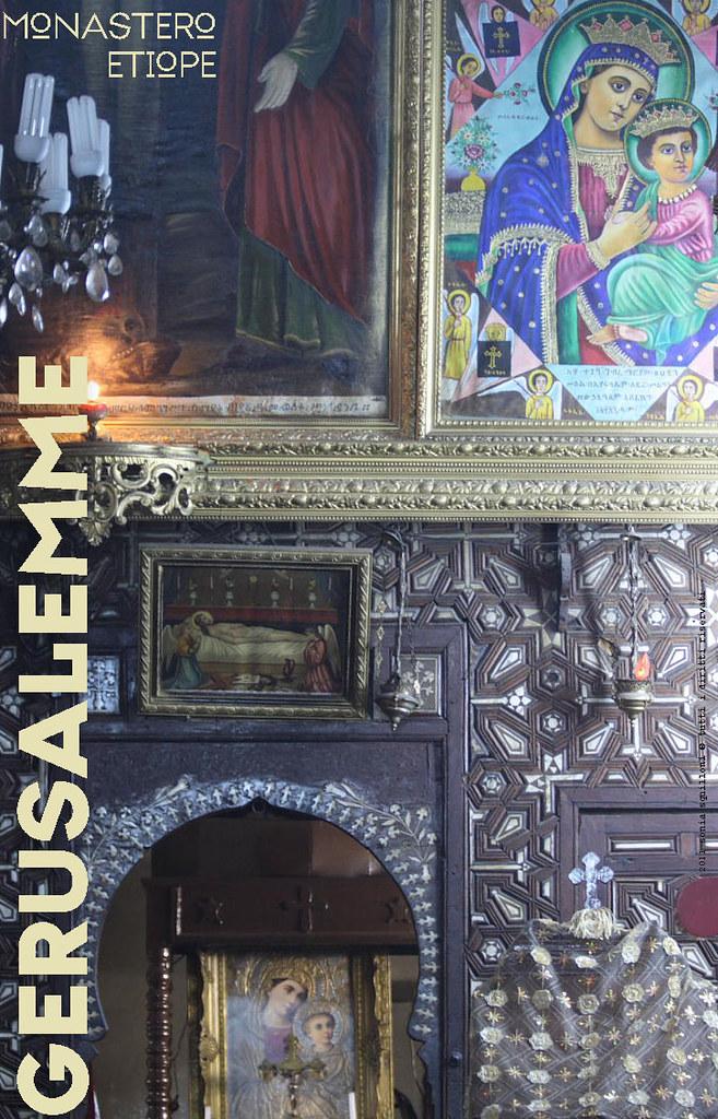 Gerusalemme, monastero etiope