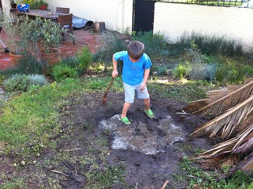 Ezra's mud