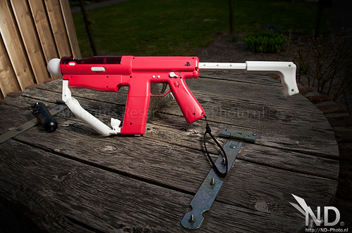 Extended Buttstock / Sony Sharp Shooter