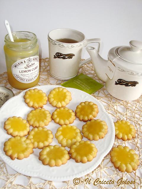 Fiorellini al lemon curd