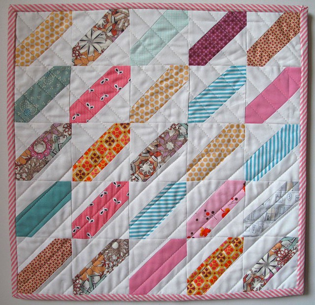 Slant Doll Quilt - Tutorial