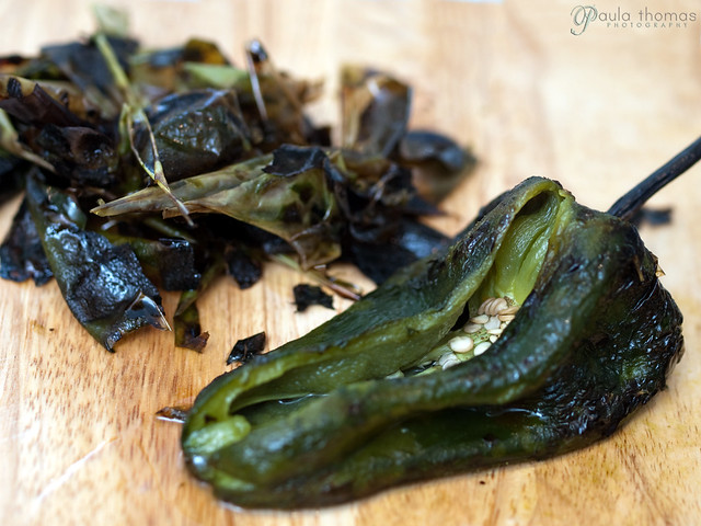 Peeled Poblano Pepper
