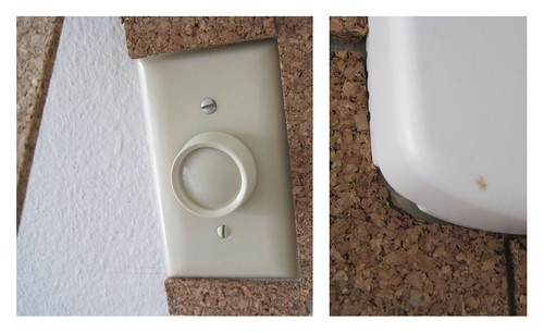 light switch and thermostat