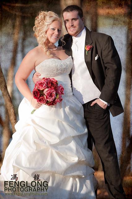 Bridal Portrait w/ Texture | Jennifer & Derek's Red Top Mountain Wedding, Cartersville, Georgia [Atlanta Wedding Photographer]