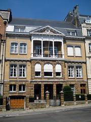 Architectenwoning Adrien Blomme, Elsene (Erf-goed.be) Tags: geotagged brussel woning elsene archeonet architectenwoning geo:lat=508204 adrienblomme geobernierlaan geo:lon=43756