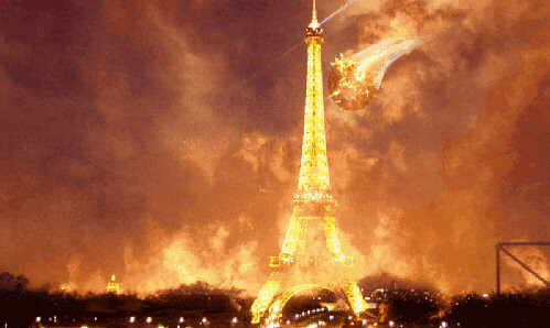 paris in flames