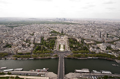 Eiffel Tower from the Top 01