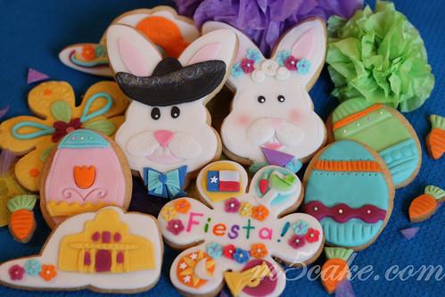 Fiesta San Antonio Easter Cookies 5