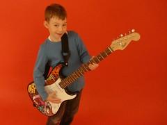 Fotoshooting E-Gitarre