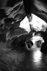 Stone Age in B&W (Chez C.) Tags: light shadow bw white black stone pen photography interesting perspective tunnel olympus explore age limestone cave ipoh f3556 blackwhitephotos 1442mm epl2 ringexcellence