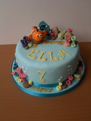 Ella's Nemo Birthday Cake (Crumbs & Corkscrews) Tags: birthday sea cake coral cupcakes underwater nemo cotswolds disney celebration dory findingnemo cirencester cirencestercupcakes