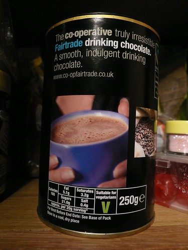 Co-op chocolate drink