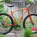 Rhythm 29er on Path with Flowers  By: Muse Cycles
