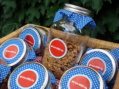 DIY Granola Favours (spin off stuff) Tags: party music breakfast project diy dj workshop brunch beats craftnight craftparty spinsandneedles bricolagebrunch