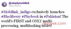 Mobilink tweet