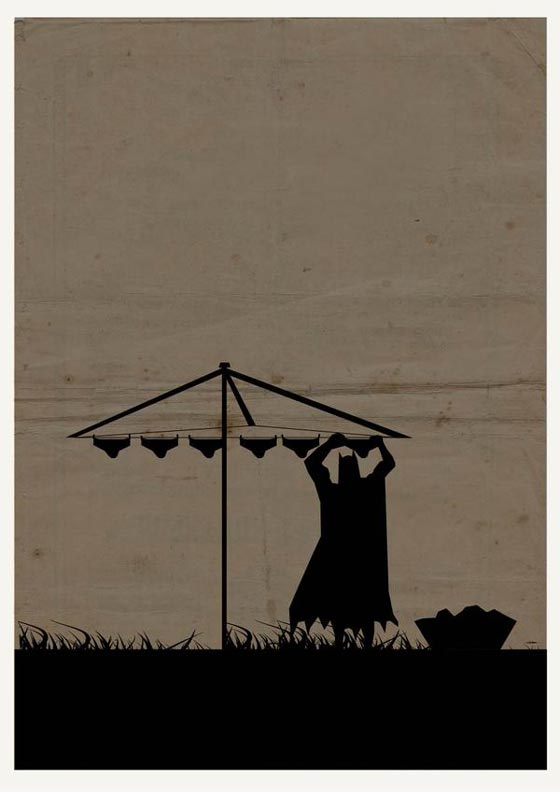 cartel minimalista