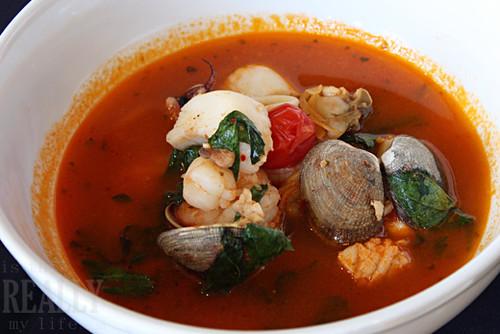 Faustina's seafood soup