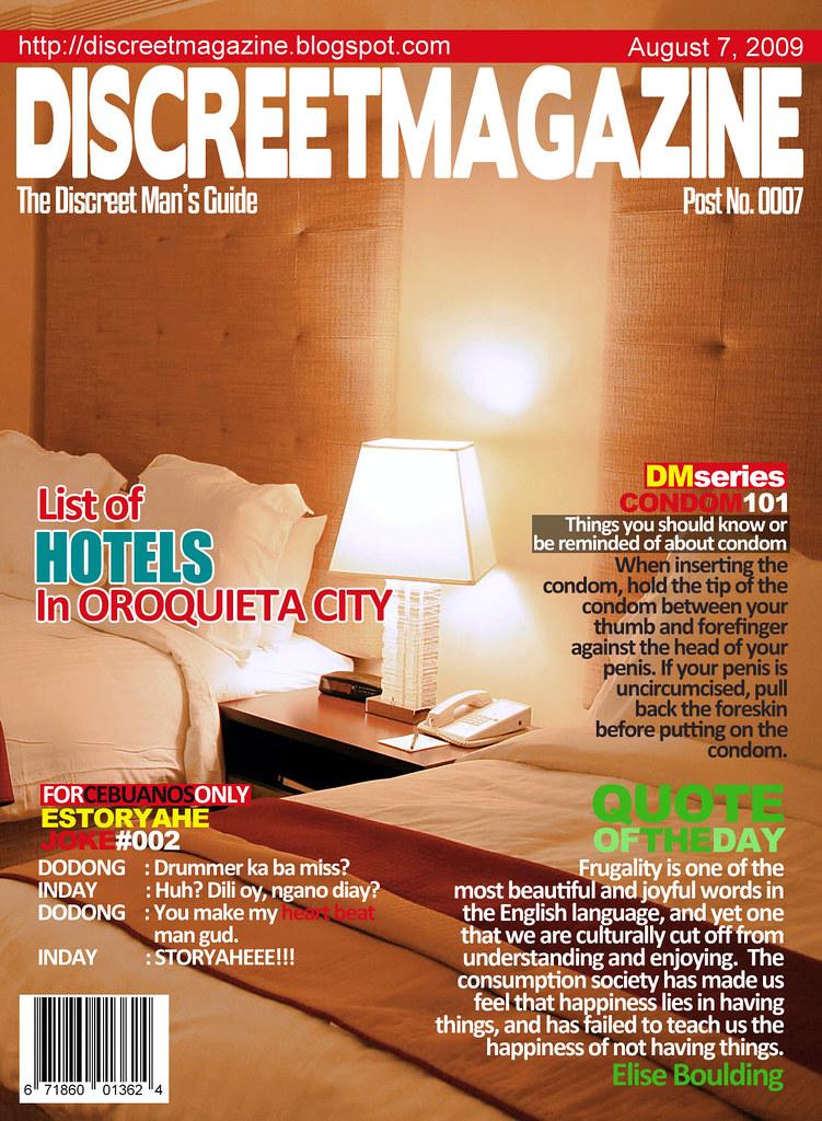 Discreet Magazine August 7 2009
