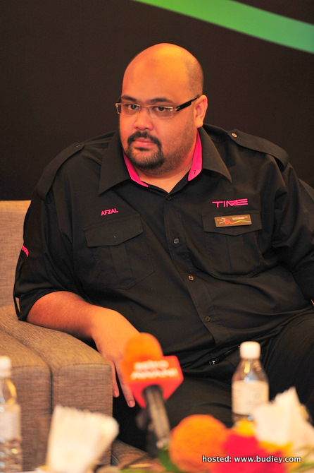 Afzal Abdul Rahim, Ceo Of Time Dotcom, At The Press Conference Of Astro B.yond Iptv Media Launch.