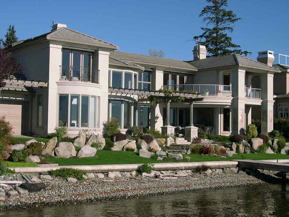 Mercer Island Waterfront Custom Home
