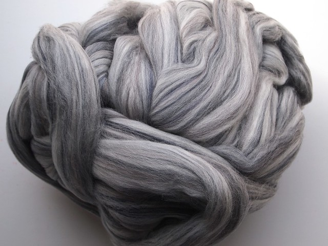 FCK-variegated merino combed top-8oz