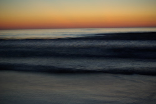 sunrise at the beach by Isabel Maria Bush