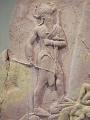 Victory Stele of Naram-Sin with detail of Standing King